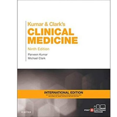 Kumar and Clark's Clinical Medicine 9th Edition image