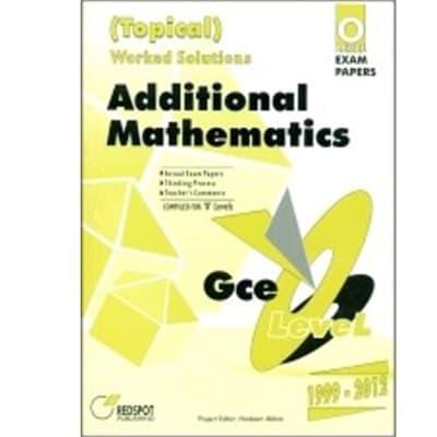 O Level Additional Mathematics (Topical) image