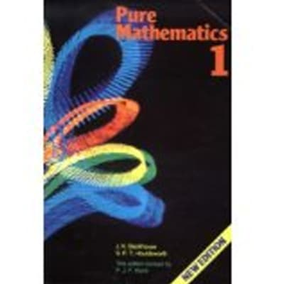 Pure Mathematics: Volume 1 image