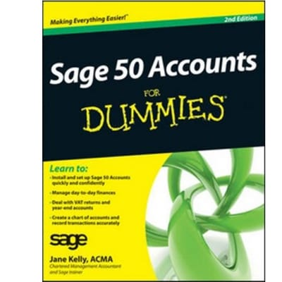 Sage 50 Accounts for Dummies (2nd Revised edition) image