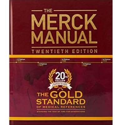 The Merck Manual of Diagnosis and Therapy 20th Edition – Hardcover image