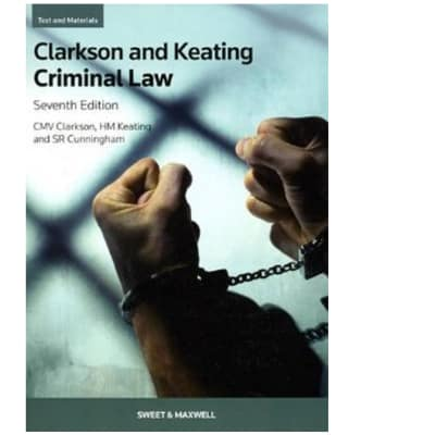 Clarkson And Keating Criminal Law 7th Edition image