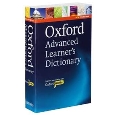 Oxford Advanced Learners Dictionary International Student's Edition image