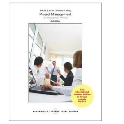 Project Management: The Managerial Process 6th Ed image