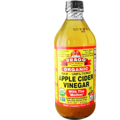 Bragg Organic Apple Cider Vinegar  Raw  Unfiltered  image