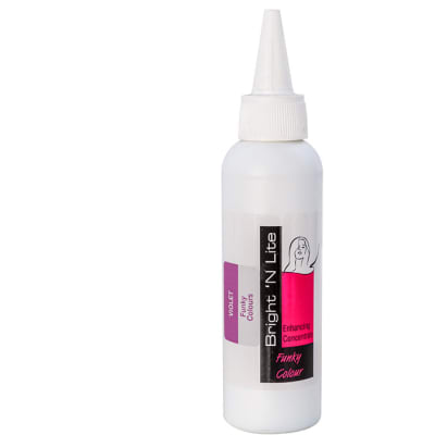 Bright 'N Lite  Funky Colour Violet Hair Dye Concentrate  100ml image