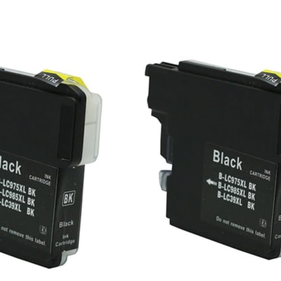 Printer Toner Cartridges - Brother LC39XL Black Ink Cartridge image