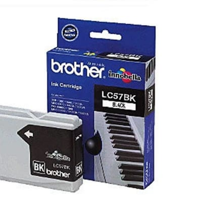 Printer Toner Cartridges - Brother LC57 Black Ink Cartridges image