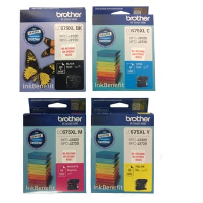 Printer Toner Cartridges - Brother LC675XL Ink Cartridges image
