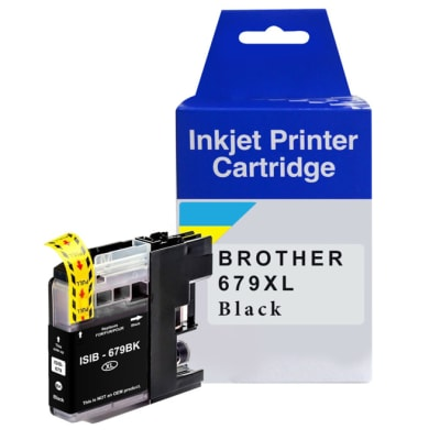Printer Toner Cartridges - LC679XL-BK Black Ink Cartridges image