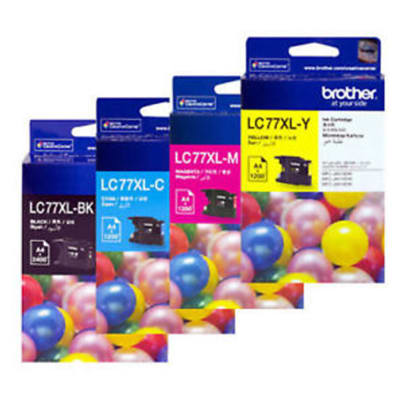 Printer Toner Cartridges - Brother LC77XL Ink Cartridges image