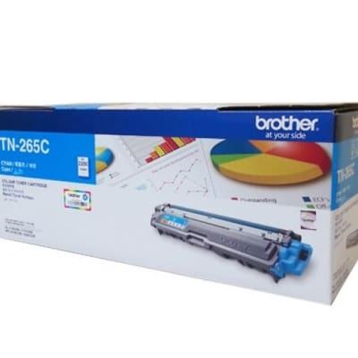 Brother Tn-265c Cyan Toner Cartridge  image