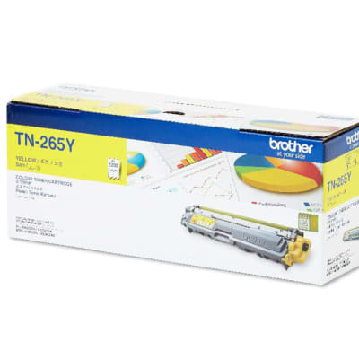 Brother Tn-265y Yellow Toner Cartridge  image