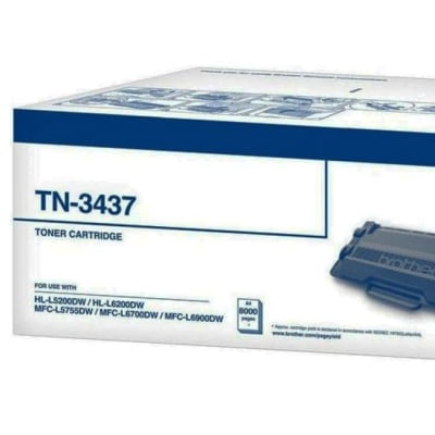 Printer Toner Cartridges - Brother TN3437 Toner Cartridges image