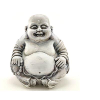 Buddha Statue Sitting & Happy image