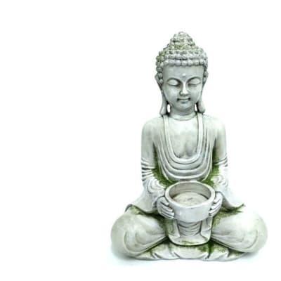 Buddha Decor  - Sitting Holding a Bowl  image