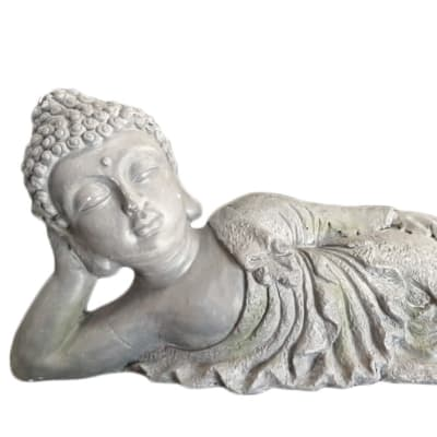 Buddha Statue  Relaxed & Reclining  image