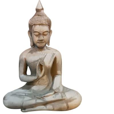 Buddha Statue Grey image