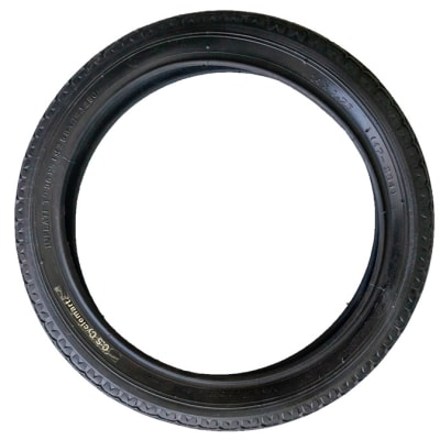 Tyres Fat-Tyre Black Bicycle Tyres 14x1.75 image
