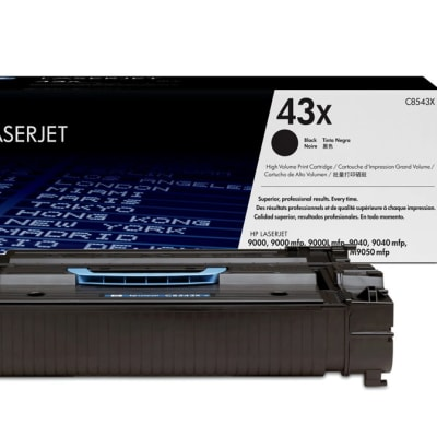 Printer Toner Cartridges - Hewlett Packard HP 43X Toner Cartridge image