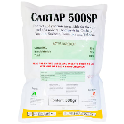 Cartap 500sp  Soluble Powder Systemic Insecticide 500g image