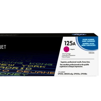Hp 125a Cb543a Magenta Toner Cartridge image