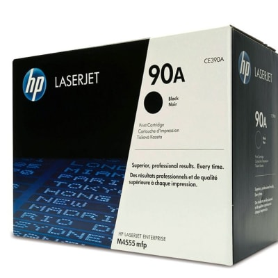 Printer Toner Cartridges - Hewlett Packard CE390A (HP 90A) Black Toner Cartridge image