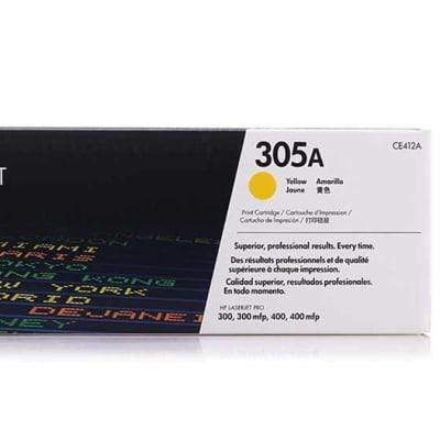 Hp 305a Ce412a Yellow Toner Cartridge image
