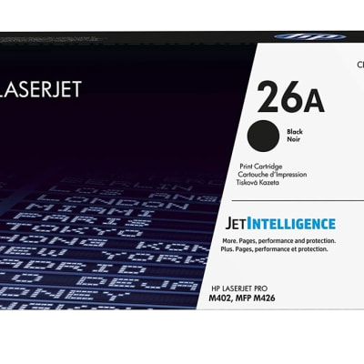 Printer Toner Cartridges - Hewlett Packard CF226A (HP 26A) Black Toner Cartridge image