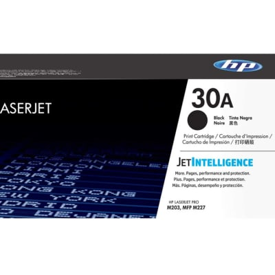 Printer Toner Cartridges - Hewlett Packard CF230A (HP 30A) Black Toner Cartridge image