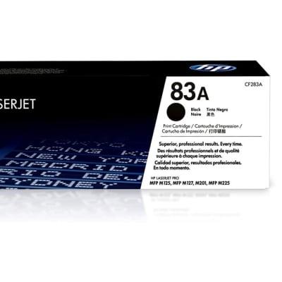 Printer Toner Cartridges - Hewlett Packard CF283A (HP 83A) Black Toner Cartridge image