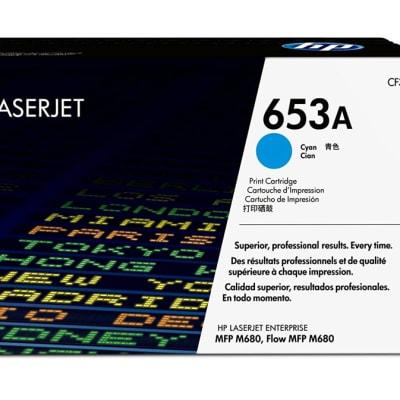 653a (Hp Cf321a) cyan Toner Cartridge image