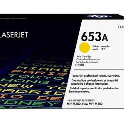 653a (Hp Cf322a) yellow Toner Cartridge image