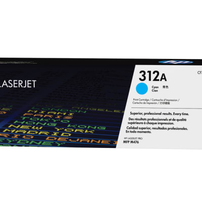 Printer Toner Cartridges - Hewlett Packard CF381A (HP 312A) Toner Cartridge image