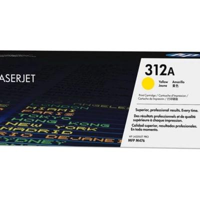 Hp 312a Cf382a Yellow Toner Cartridge image