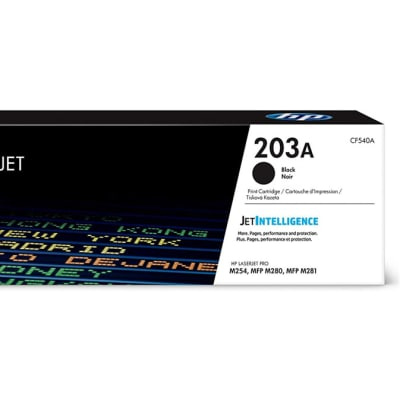 Printer Toner Cartridges - Hewlett Packard CF540A (HP 203A) Black Toner Cartridge image