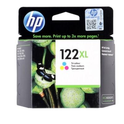 Hp 122xlc Ch564he Tri-Colour High Yield Toner Cartridge image