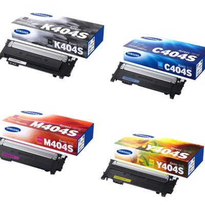 Printer Toner Cartridges - Samsung CLT-404S Toner Cartridge image