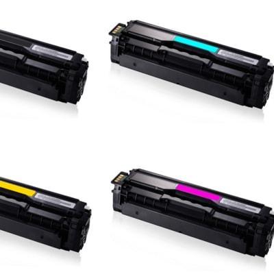Samsung Clt-504s Black & Colour Toner Cartridges  image