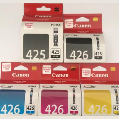 Canon Pgi-425/CLI-426 Black & Colour Ink Cartridge  image