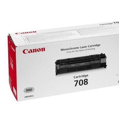 Canon 708 Black Toner Cartridge  image