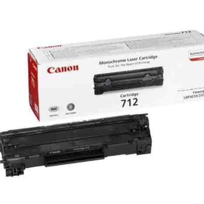 Canon 712  Black Toner Cartridge  image