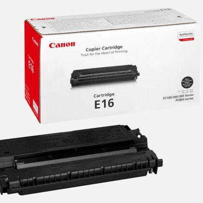 E16 Black Toner Cartridge  image