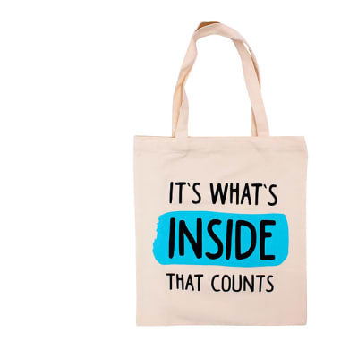 Canvas Tote Bag Eco-Friendly  It's What's inside... image