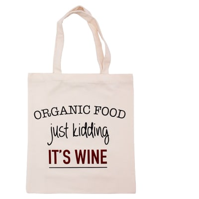Tote Bag Canvas  Eco-Friendly  Organic Food Just... image