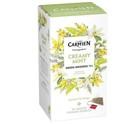 Herbal Tea  Creamy Mint Green Rooibos Tea  20 Teabags image