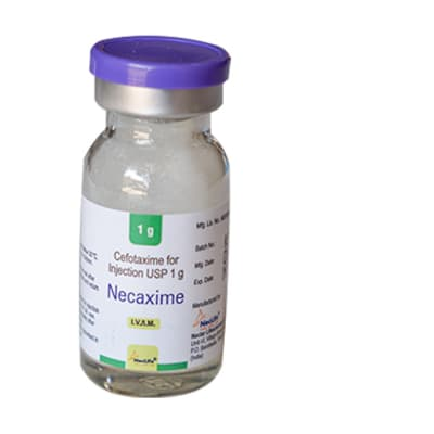 Cefotaxime for Injection - 1g image