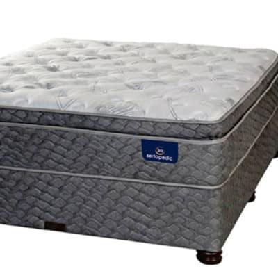 Sertapedic - Cosmo Pillow Top Mattress & Base Set  image