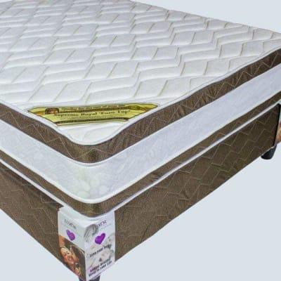 Luxor  - Euro Top Plush Mattress & Base Set  image