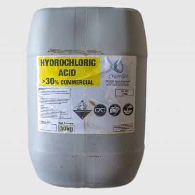 Hydrochloric Acid >30% Commercial image